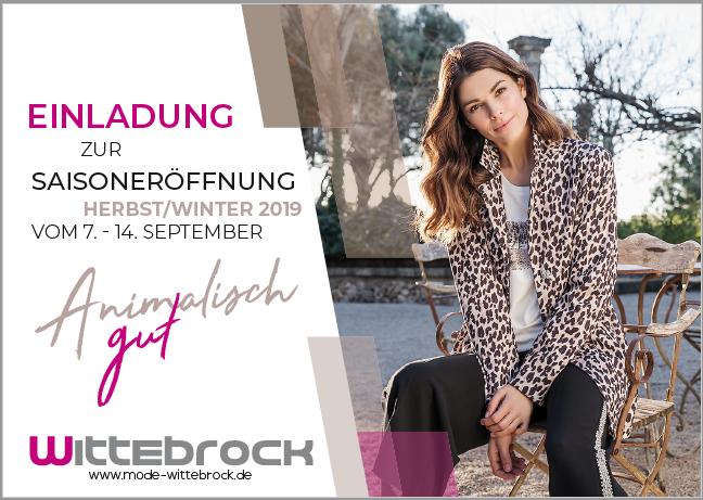Mode-Herbst bei Mode Wittebrock eröffnet